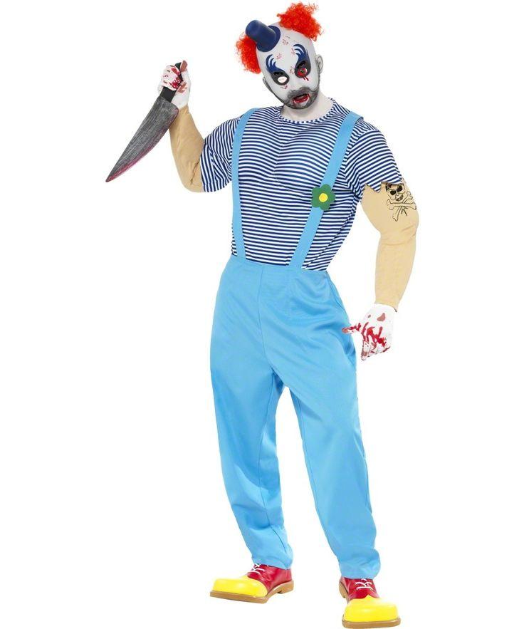 Déguisement clown tueur adulte Halloween : Deguise-toi, achat de Deguisements adultes
