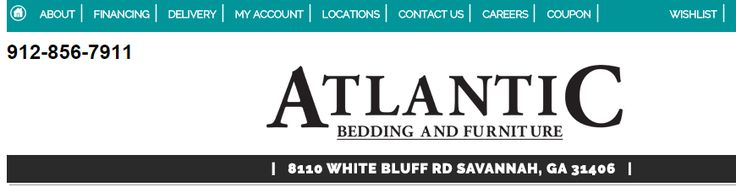 Atlantic Bedding and Furniture Stores in Savannah GA