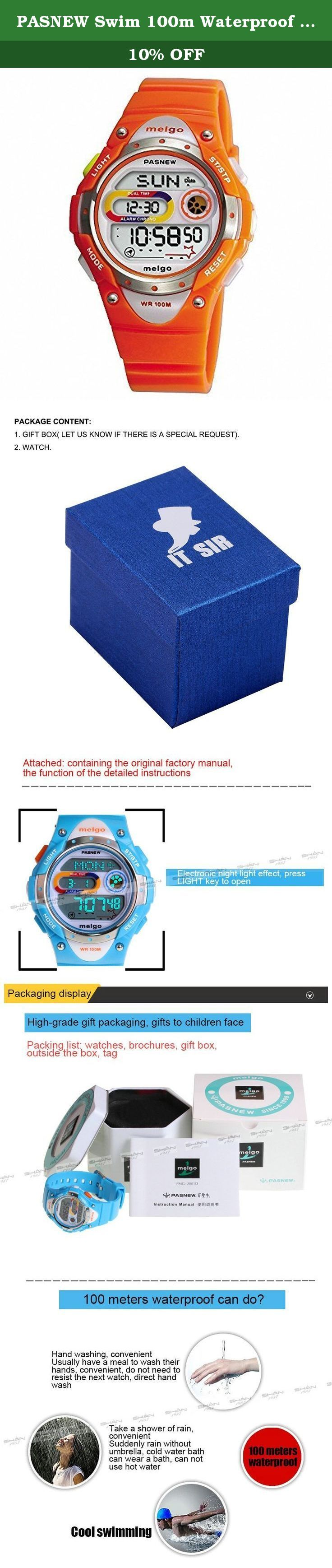 PASNEW Swim 100m Waterproof Outdoor Sport Fashion Digital Wrist Watch Girl Boy Gift Full-function Luminous Orange Alarm Clock. Guangzhou Pasnew Industrial Co. Ltd. is a comprehensive company for the development, manufacture and marketing of fashion sport watches. As one of 'Famous Companies Guangdong Province', Pasnew always focouses on quality and design, and licensed as Manufacture of Guangzhou Asian Game Souvenirs.