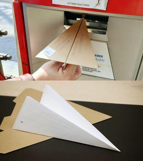 Flying Letter by Kuranari & Tsukamoto