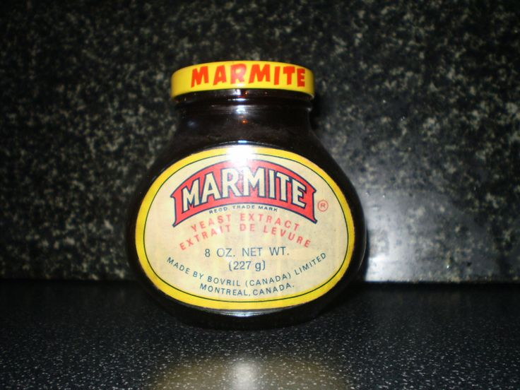 Canadian Jar of Marmite