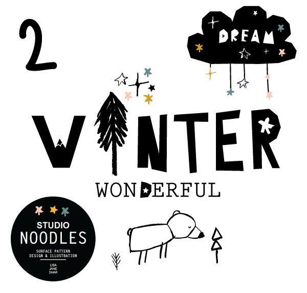 Winter Wonderful Winter Bear.