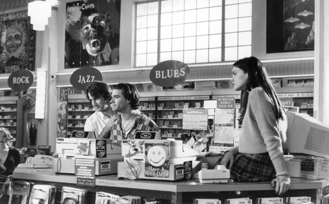 Still of Liv Tyler, Anthony LaPaglia and Johnny Whitworth in Empire Records