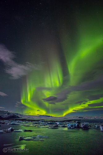 Northern Lights, Iceland. I don't care where I see the Northern Lights, I just want to see them! :)