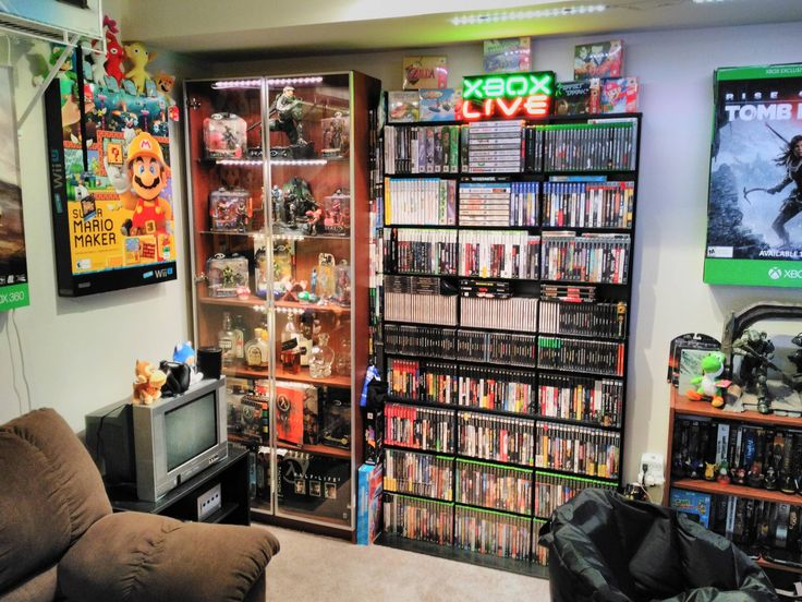 66 best Video Game Room images on Pinterest Video game rooms