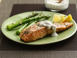 Grilled Salmon with Lemon-Dill Sauce  Betty Crocker