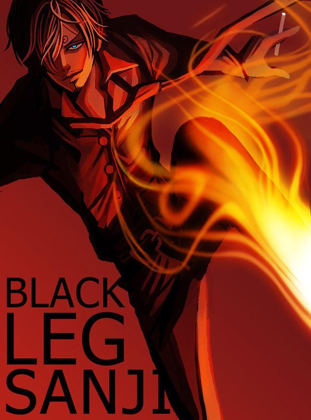 Imagem: Black Leg Sanji (One Piece) Inspired by... | Luffy Island