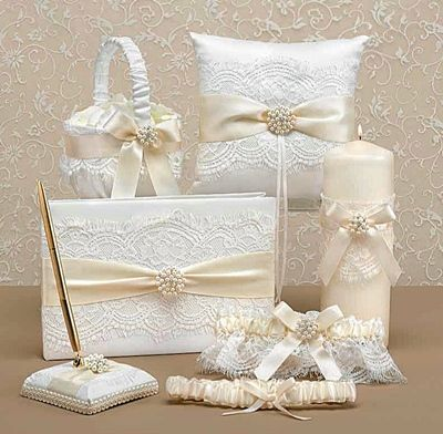 Hortense B Hewitt Splendid Elegance Collection Wedding Accessories Set And Other Party Favors Personalized Gifts