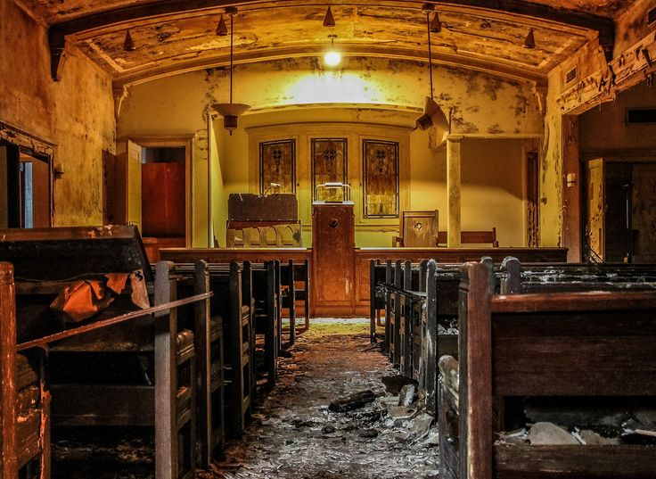 Abandoned Funeral Home