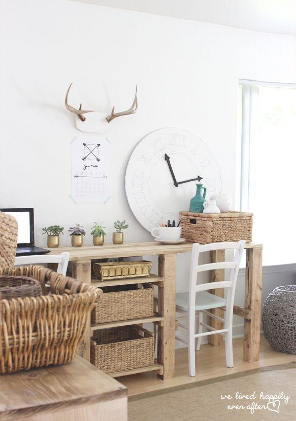 17 best ideas about simple desk on pinterest desks diy office desk and bureau ikea. Black Bedroom Furniture Sets. Home Design Ideas