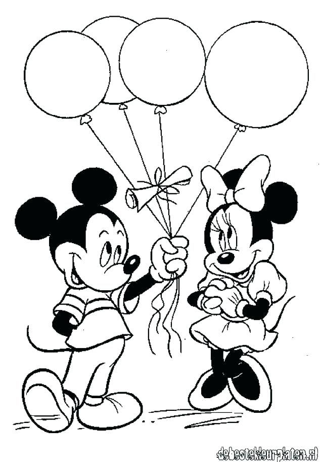 Minnie Mouse Printable Coloring Pages Baby Minnie Mouse Printable