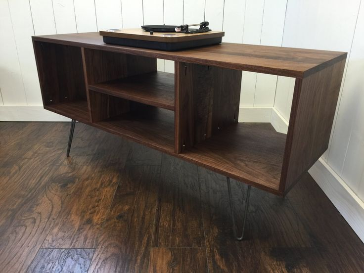new mid century modern record player console by scottcassin