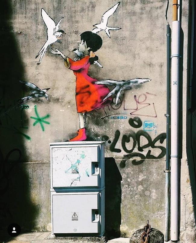 Sokakların Yeni Banksy'si Kenny Random'dan Etkileyici Sokak Sanatı Eserleri Sanatlı Bi Blog 33