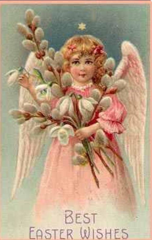 Best 500 Easter Cards Vintage Style images – Victorian Easter Cards