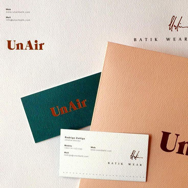 UnAir branding