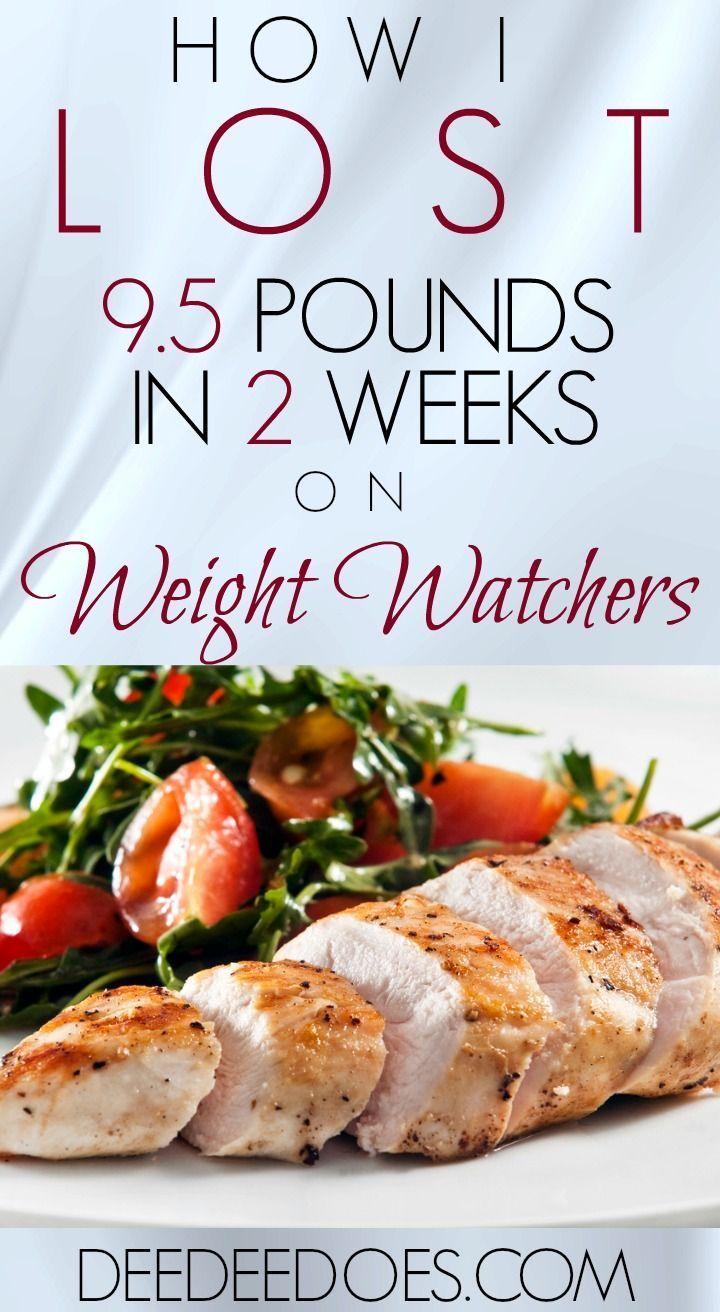 Da ich in 2 Wochen auf Weight Watchers Freestyle fast 10 Pfund abgenommen habe   – Diät Informationen
