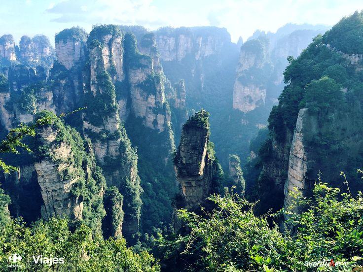 Aventuhero se adentra en China para visitar un lugar mágico, ¿Conoces #Pandora? 1ª Parte de su nueva aventura: http://www.viajes.carrefour.es/blog/viajes-aventuhero/china-la-tierra-inabarcable-primera-parte/    #ViajesCarrefour #China #Vuelos #Aventuhero #Avatar