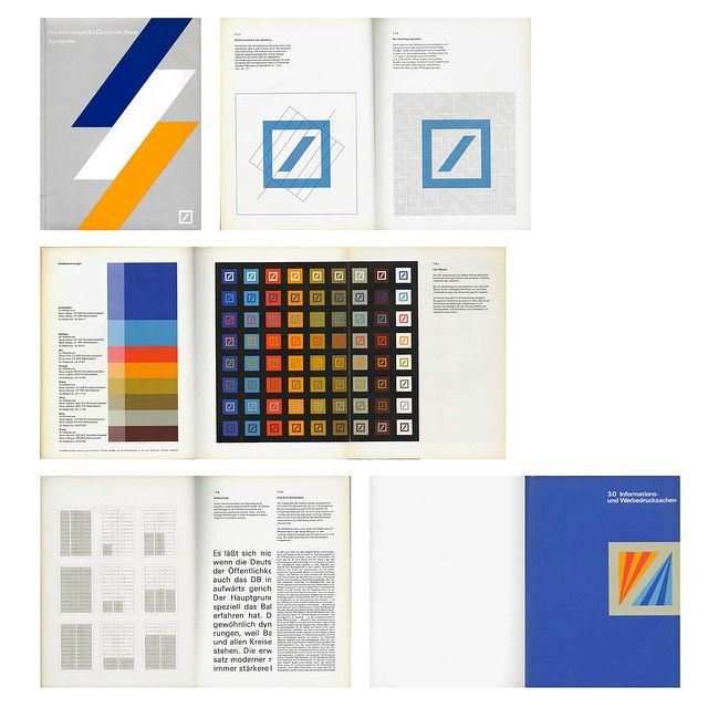 as119:  The Deutsche Bank design manual by Anton Stankowski is now available as…