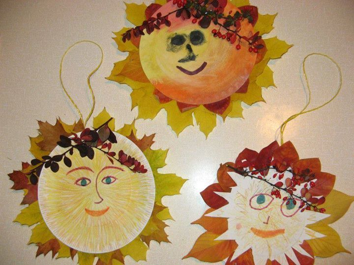 podzimní sluníčka
