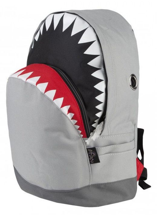 You're gonna need a bigger boat ... for this shark backpack.