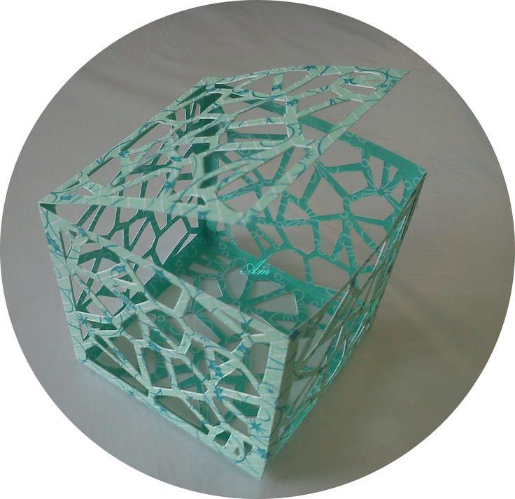 #Kirigami##doboz##papír##kirigamidoboz##alkotásmánia#