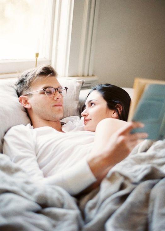 lovers on a lazy Sunday morning via Kylie Martin
