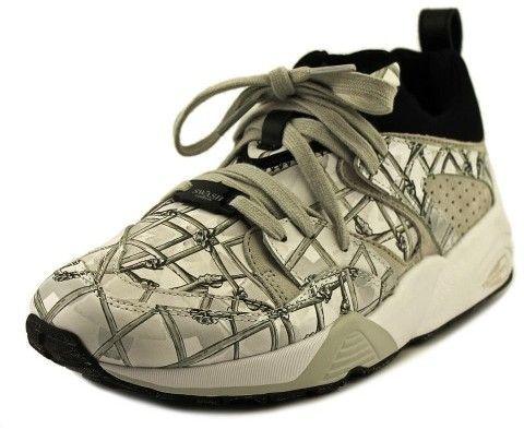 Puma Alexander McQueen By BOG X Swash Bones Men US 7 Gray Running Shoe