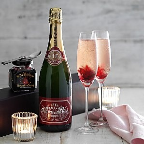 Wild Hibiscus Flowers and Champagne Gift Set - 30 from Waitrose