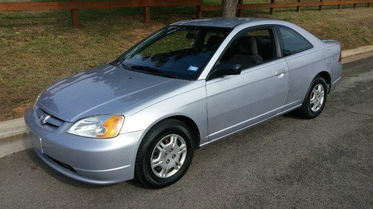 2002 #Honda #Civic 2dr Cpe LX #Manual #Cars - #Arlington, TX at #Geebo