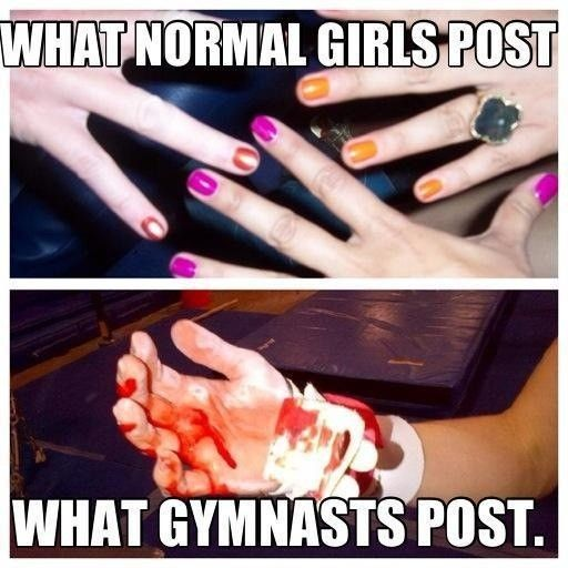 How you know you are a gymnot #1