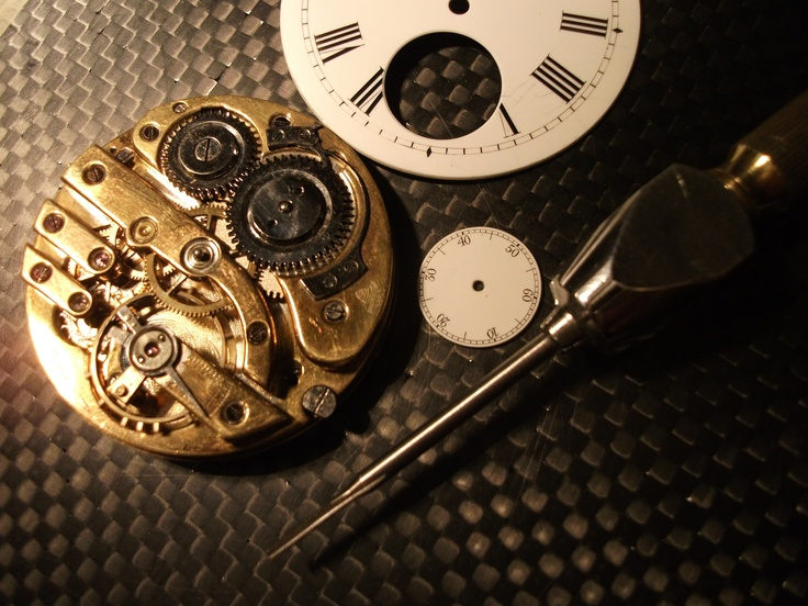 still life: watchmaking :)