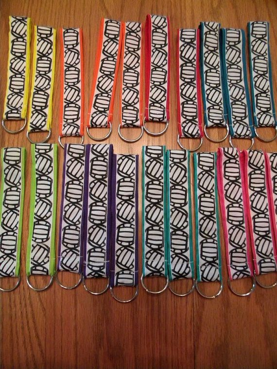 Volleyball keychain Wristlet  by KutieStuff on Etsy, $4.50