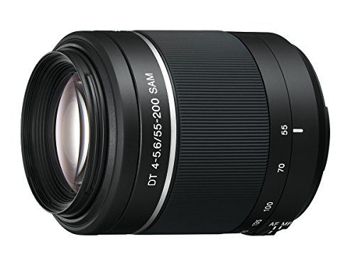 Sony 55-200mm f/4-5.6 SAM DT Telephoto Zoom Lens for Sony Alpha Digital SLR Cameras -- undefined #Lenses