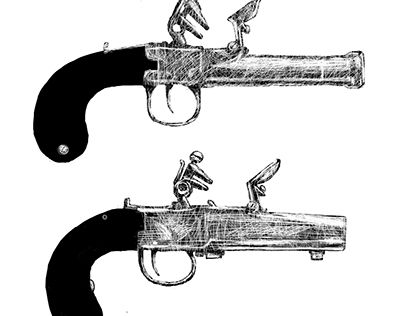 """Check out new work on my @Behance portfolio: """"Pistols"""" http://be.net/gallery/37214307/Pistols"""