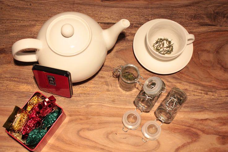 Zielona herbata ....prosto z Chin. Piękna, smaczna i zdrowa.