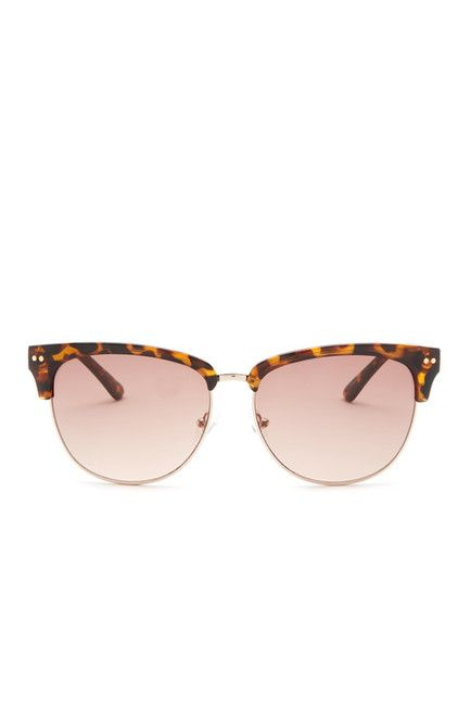 Image of GUESS Women's Browline Sunglasses