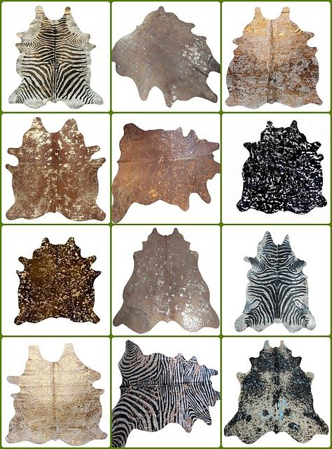 I Want A Metallic Cowhide For My Living Room. It Elevates The Common  Cowhide To · Animal Skin RugAnimal ... Part 37