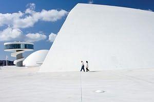 Oscar Niemeyer: Centro Cultural Oscar Niemeyer, Asturias, Spain