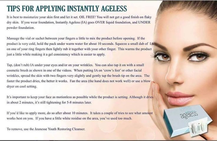 MIRACULOUS INSTANTLY AGELESS!!!