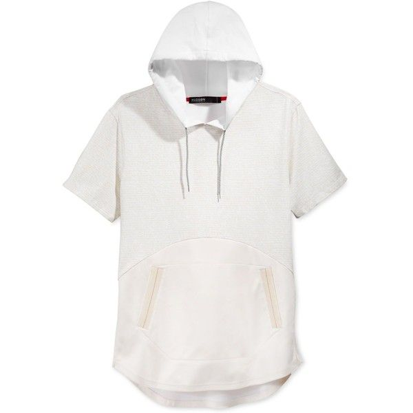 White Short Sleeve Hoodie | Fashion Ql