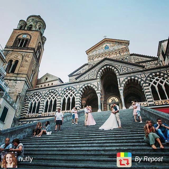 Nadya and Alexey. #Wedding in #Amalfi:) Wedding planner: @yourdreamweddingitaly  Photo: @nutly http://www.dream-wedding-italy.ru  Active link in profile.  #фотографзарубежом #свадебныйфотограф #дуплинская #невеста #жених #свадебныйтанец #destinationphotographer #wedding #italy #positano #duplinskaya #groom #bride #италия #позитано #амальфи #amalfi