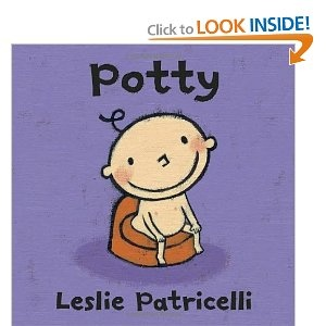 """Potty (Leslie Patricelli board books): Amazon.com: Books Sasha loves this and is starting to imitate by saying...  """"Pee pee"""" and goes in her potty."""
