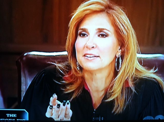 Judge Marilyn Milian - I think Judge Milian can be very rude and she displays some very infantile behavior. She has great court cases, but she is hard to watch sometimes.