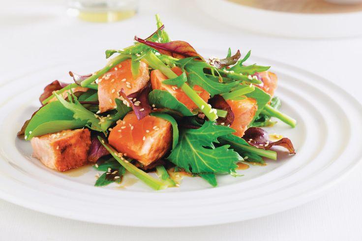 Salmon & Asparagus Salad