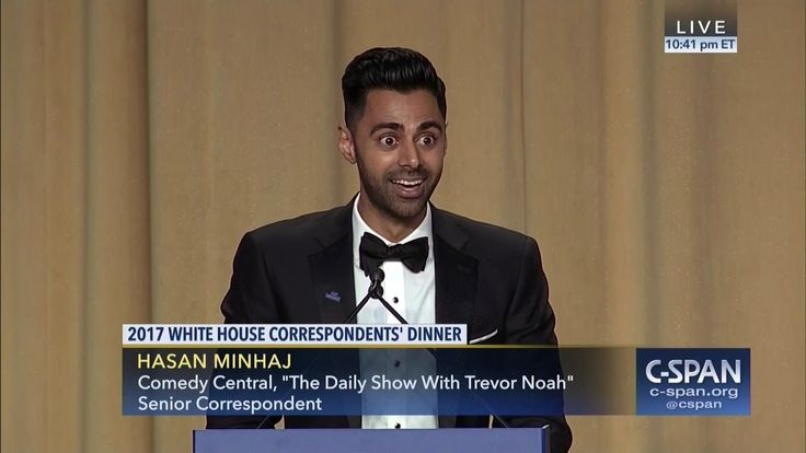 Hasan Minhaj COMPLETE REMARKS at 2017 White House Correspondents' Dinner...(Incredible roast)   The epitome of our 1st Amendment Right. Why hypocrite Trump should be resisted.