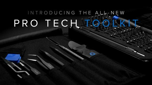 iFixit makes the greatest tech tool kits out there, and now they've updated their bestselling Pro Tech toolkit for the next generation of gadgets in your life. And it's just beautiful. I want one.