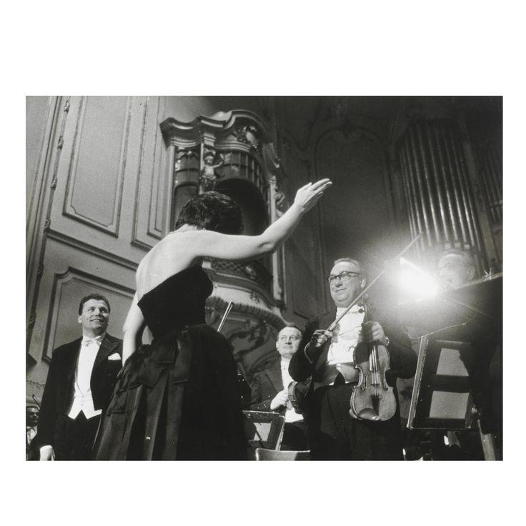 Maria Callas ALBUM CONTENENTE FOTOGRAFIE DEL CONCERTO DI AMBURGO DEL 1962