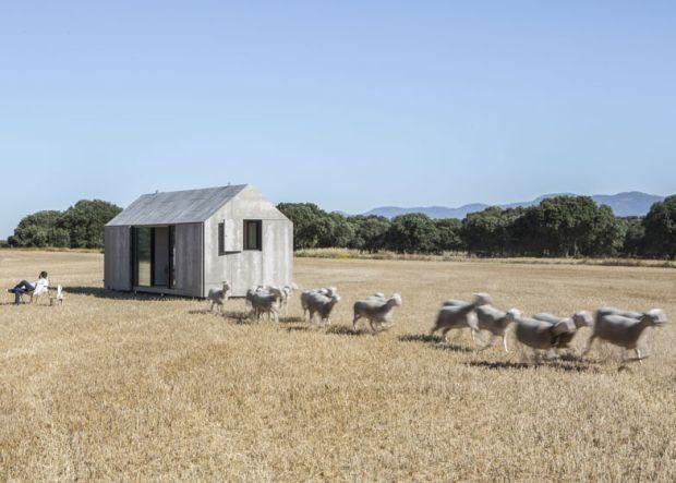 betonowy dom mobilny
