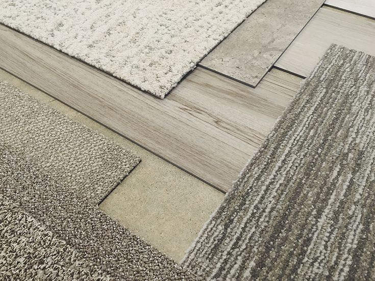 Interface Level Set luxury vinyl tile was made to match our modular carpet flooring. Pair your favorite styles together for beautiful interior design. #InterfaceLVT #PerfectFitFloor