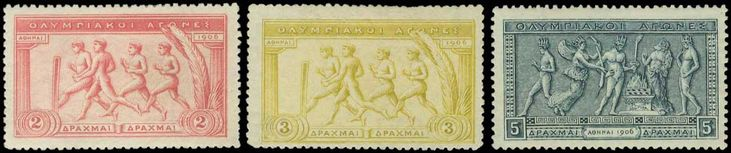 "WEB Auction 29 LIVE BIDS! Ends 20-Dec-2015 19:00  Lot 00176 | * 1906 ""Olympic games"" issue in complete set of 14 values, m. (Hellas 189/202-600 euro)."